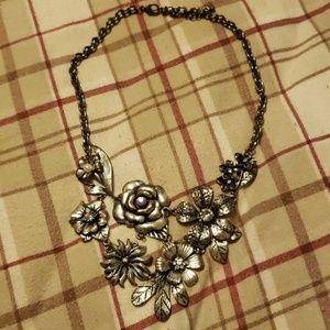 Antique look necklace